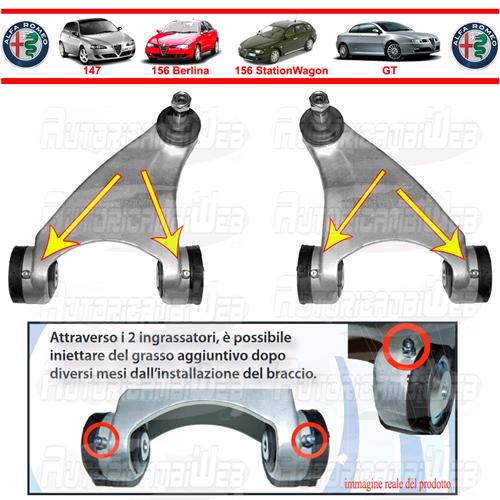 nuova versione super popolare ultimo di vendita caldo Prodotto: VEMA_BRACCI_ANT_INGR_K12-1_ST - Bracci Anteriori ...